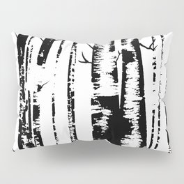 Old Growth Birch Forest Pillow Sham