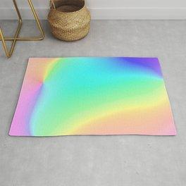Prismatic Rainbow Design! Rug