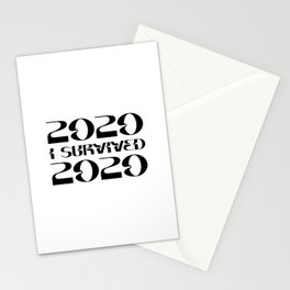 I Survived 2020 Stationery Cards