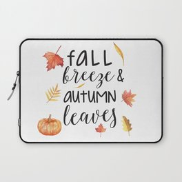 Fall breeze, autumn leaves Laptop Sleeve