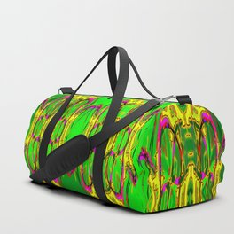 Colored fence ... Duffle Bag