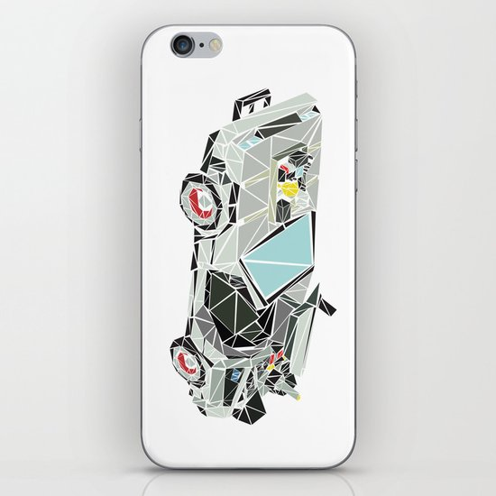 The Delorean iPhone & iPod Skin