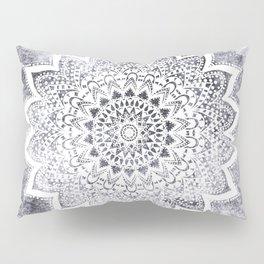 BOHO WHITE NIGHTS MANDALA Pillow Sham