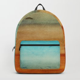 Abstract Seascape No 4: the beach Backpack