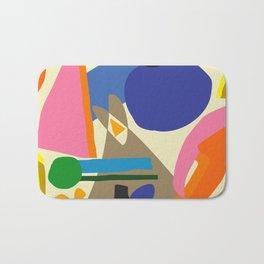 Abstract morning Bath Mat