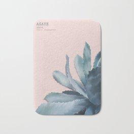 blue Agave - rosé Bath Mat