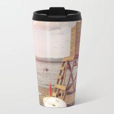 Lifeguard on the Beach Travel Mug