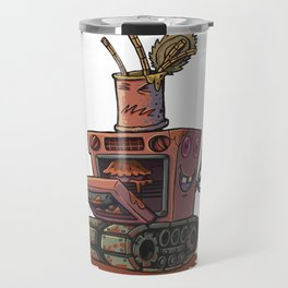 Robot pie thrower Travel Mug
