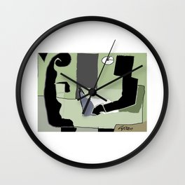 The   Interview         by Kay Lipton Wall Clock