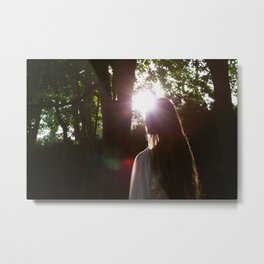 6:39 PM, Midsummer Metal Print