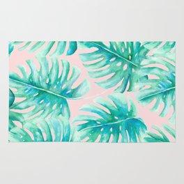 Paradise Palms Blush Rug