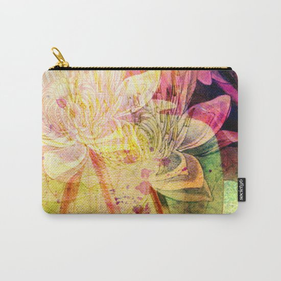 waterlily 2 Carry-All Pouch