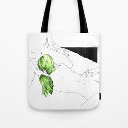 GreenHair Tote Bag