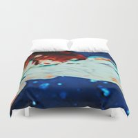 spirited away Duvet Covers featuring Spirited Away by ALynnArts
