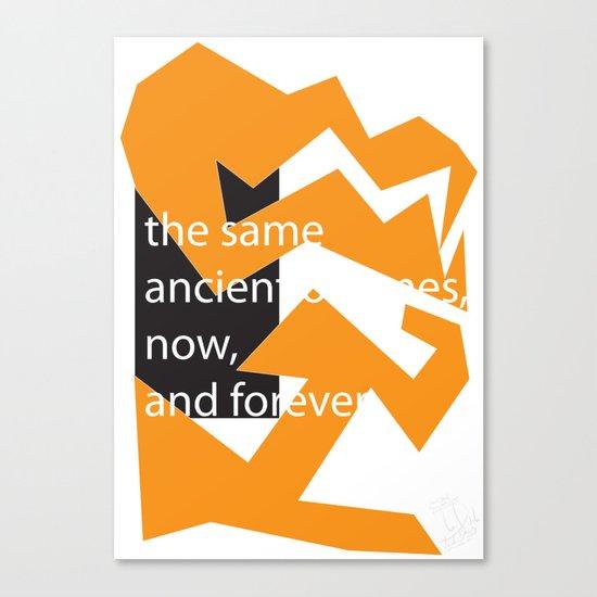 The Same Canvas Print