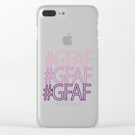 Gluten Free #GFAF Clear iPhone Case