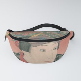 Japanese Art Print - Pilgrimage to a Thousand Shrines (1850s) 1 Fanny Pack