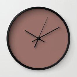 Burlwood Wall Clock