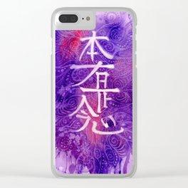 Hon Sha Zei Sho Nen Clear iPhone Case