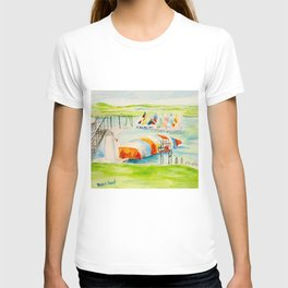 Camp Longhorn - The Blob T-shirt