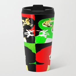 Marla Singer Fight Club Pop Art Painting Travel Mug