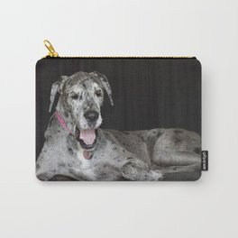Happy Great Dane Carry-All Pouch