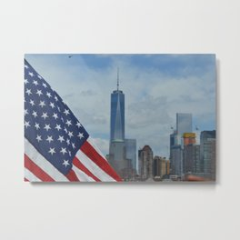 Americana: Freedom Tower Metal Print