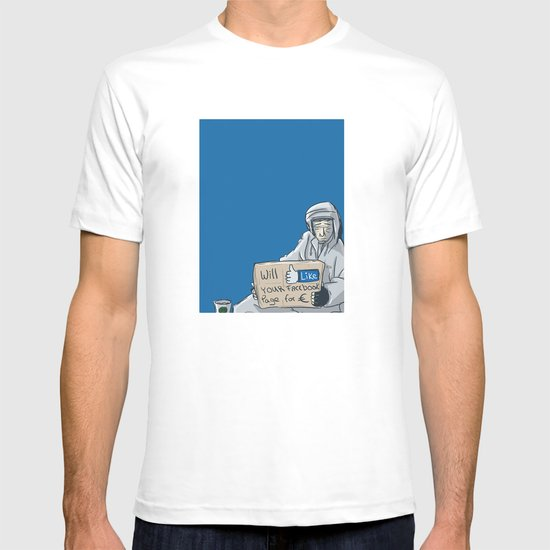Will like your Facebook page for € T-shirt