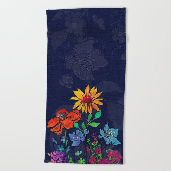 Flower Tales 6 Beach Towel