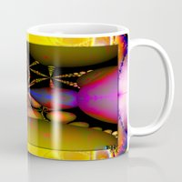starfish Mugs featuring Starfish by Robin Curtiss