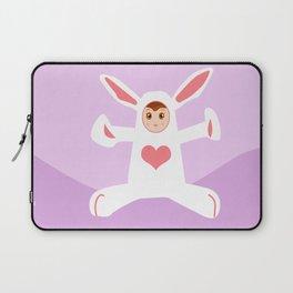 Charming Rabbit Laptop Sleeve