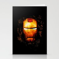 iron man Stationery Cards featuring Iron Man by Sirenphotos