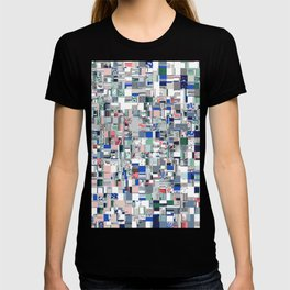 Geometric Grid of Colors T-shirt