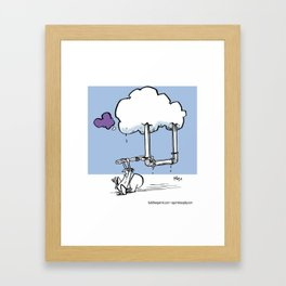 Cloud Maintenance Framed Art Print