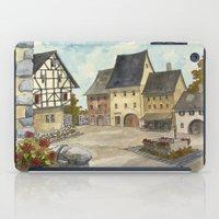 german iPad Cases featuring German Village by rob carey