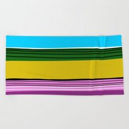 Serape 2 Beach Towel