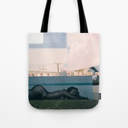 a Message.  Tote Bag