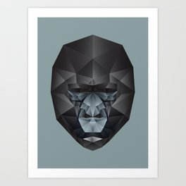 The Animals - Gorilla Art Print