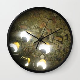 Ceiling of the Grenadier Wall Clock