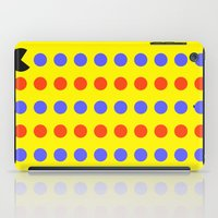 pacman iPad Cases featuring Pacman by awesomephant