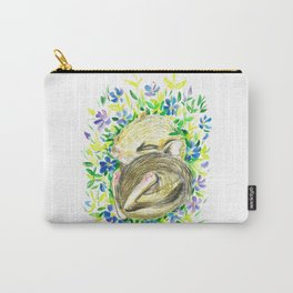 Sleepy baby squirrel Carry-All Pouch