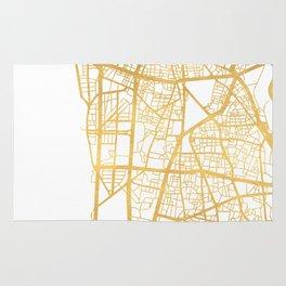 BEIRUT LEBANON CITY STREET MAP ART Rug