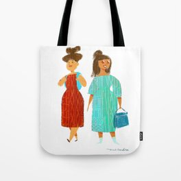 Tourists in Europe Tote Bag