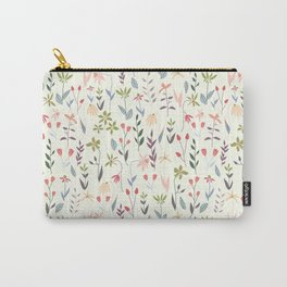 Wildflowers in the Air Sage Carry-All Pouch