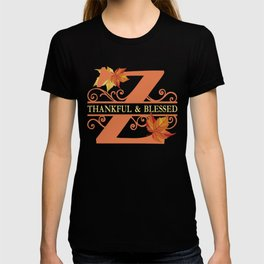 Thanksgiving Z Monogram T-shirt
