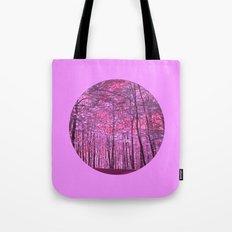 purple forest V Tote Bag