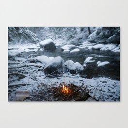 Vermont Winter Canvas Print