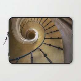 Golden spiral staircase Laptop Sleeve