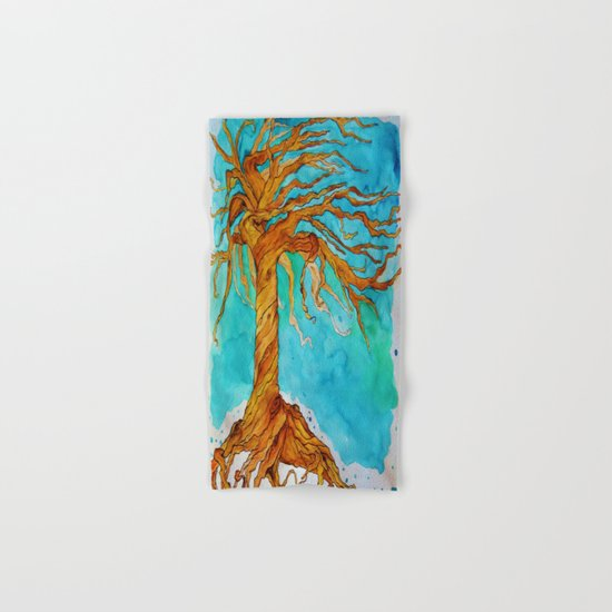 Tree of Life (Saturated Coloring) Hand & Bath Towel