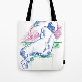 The sunbather Tote Bag